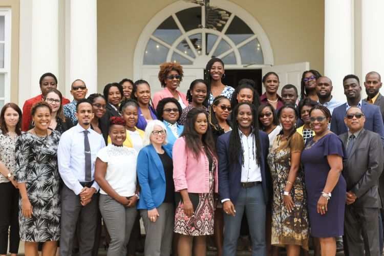 The participants of the Climate Change and Gender Focal Points Workshop in Jamaica