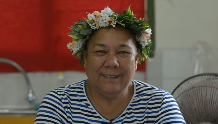 """We have one island where the hospital was badly damaged and Cyclone Pam eroded all the facilities,"" said Pulafagu Toafa, coordinator for the Tuvalu National Council of Women, who pointed to how women were disproportionately impacted when Cyclone Pam struck Tuvalu."