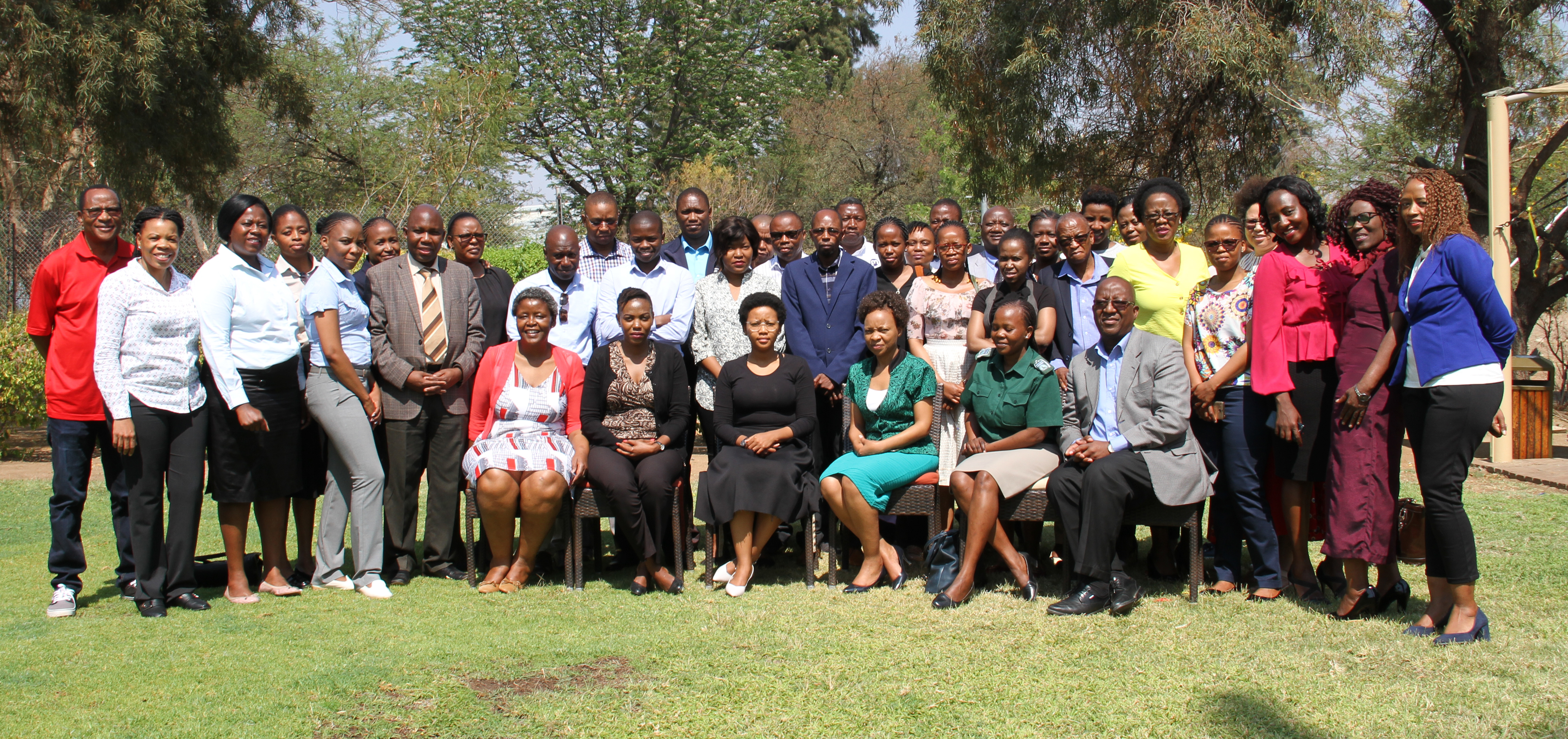 Participants of the workshop in Gaborone on September 18.
